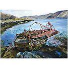 Old Ferry by Vicky Stonebridge