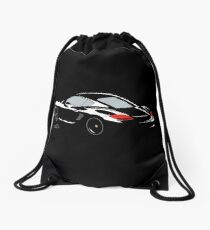 Porsche Cayman S Black Edition. Drawstring Bag