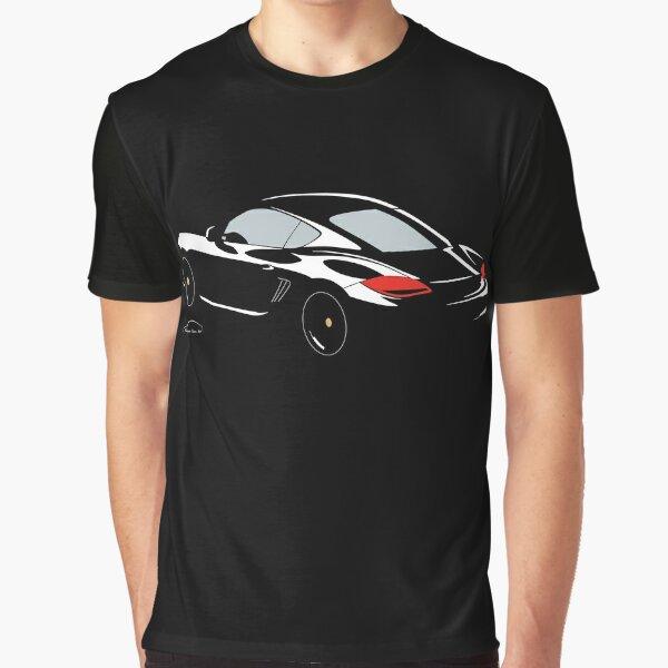 Porsche Cayman S Black Edition. Graphic T-Shirt