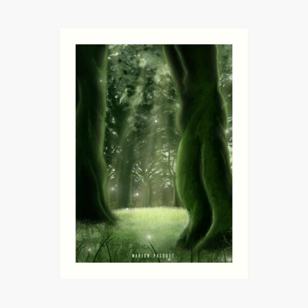 Enchanted Forest Impression artistique