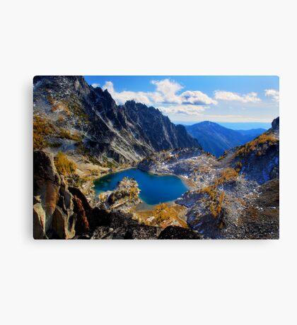 Fairytale Lake Canvas Print