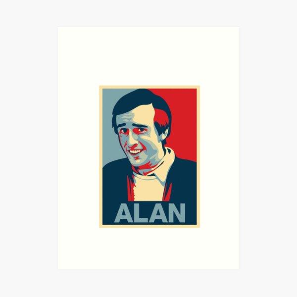 Alan Partridge ALAN Art Print