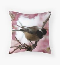 """""""Who Goes There?"""" Throw Pillow"""