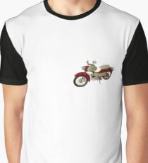 Simson MZ DDR Moped Grafik T-Shirt