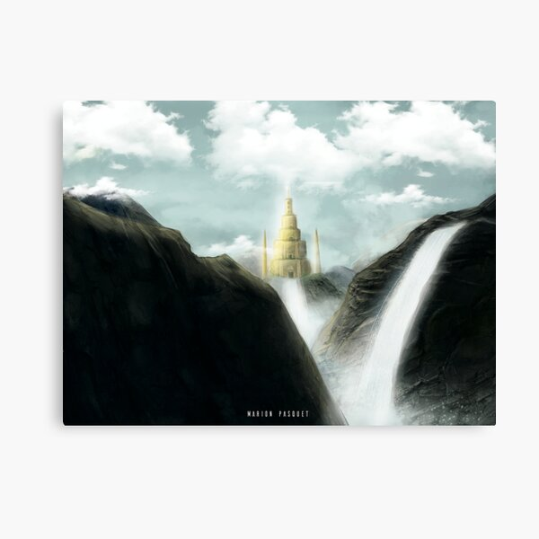 Lost Temple Impression sur toile