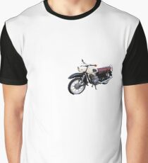 MZ, DDR Moped Grafik T-Shirt