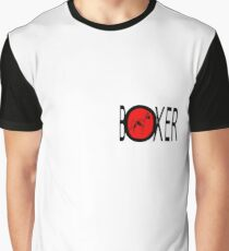 Boxer Grafik T-Shirt