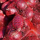 Food - red onions by Marjolein Katsma
