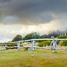 Stormy Evening at Craigs Hut, Mt Stirling, Victoria, Australia by Michael Boniwell