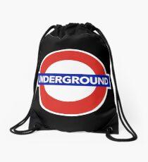 LONDON UNDERGROUND Drawstring Bag