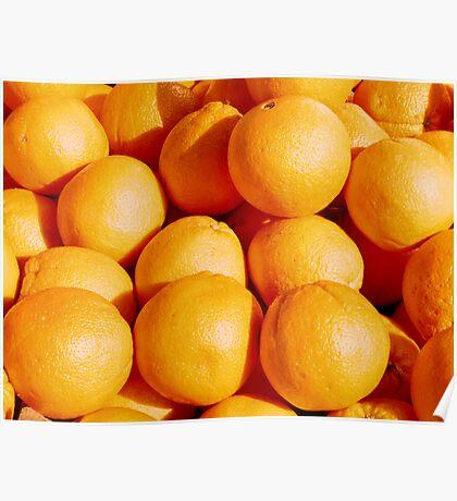 Food - oranges Poster