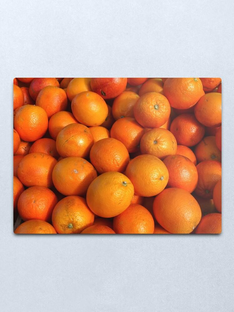 Alternate view of Food - maroc oranges Metal Print