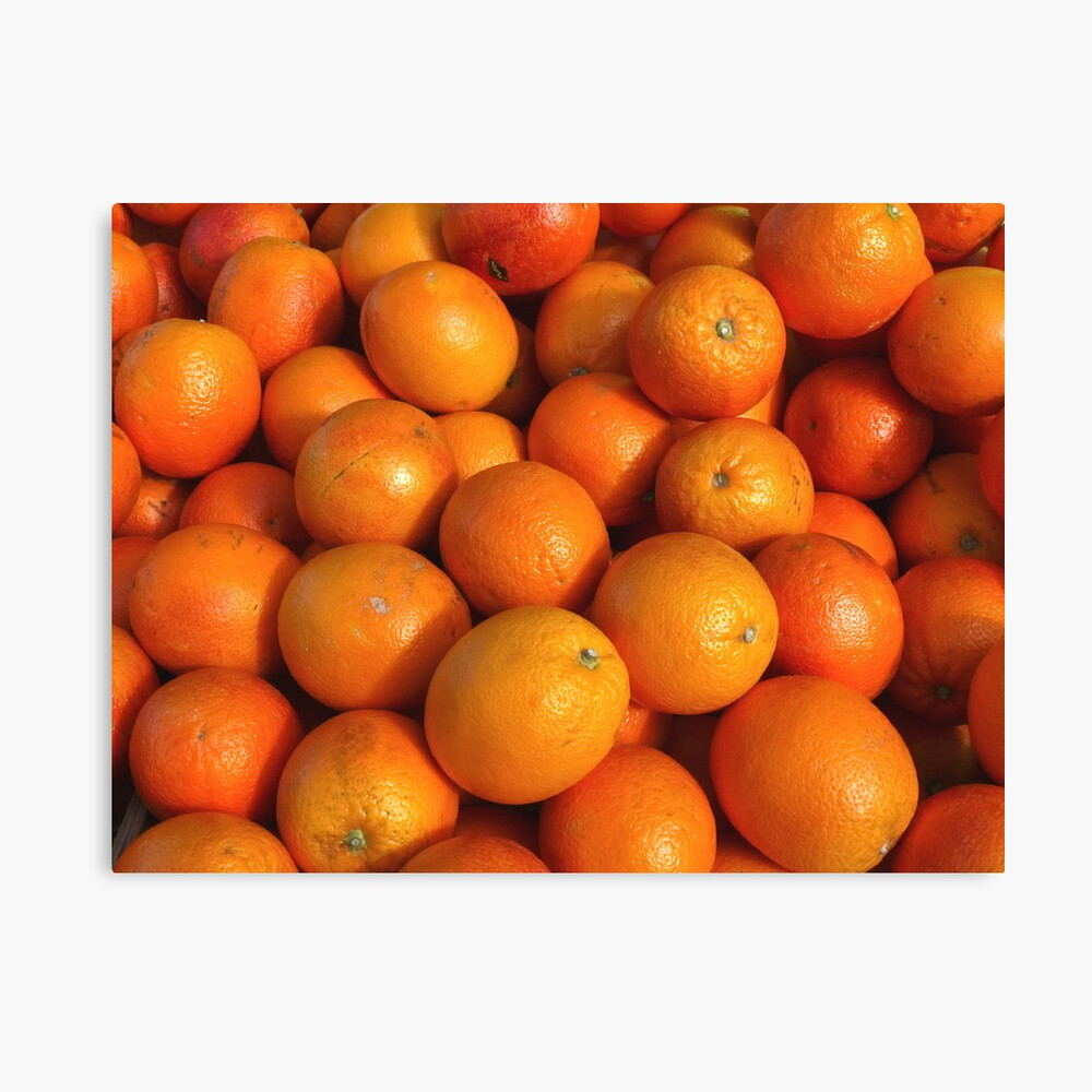 Food - maroc oranges Canvas Print