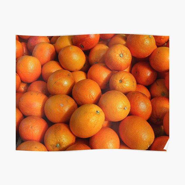 Food - maroc oranges Poster