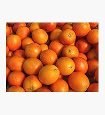 Food - maroc oranges Photographic Print