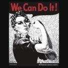 We Can Do It - Rosie the Rivetor by Blahzeedee