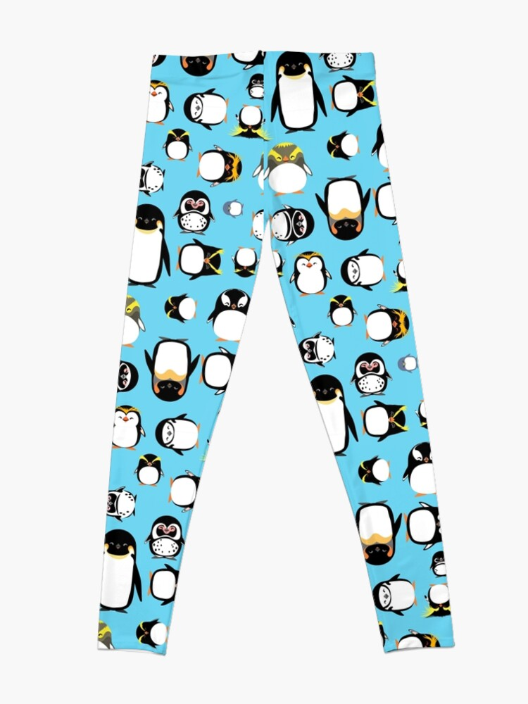 Vista alternativa de Leggings Conoce a tus pingüinos