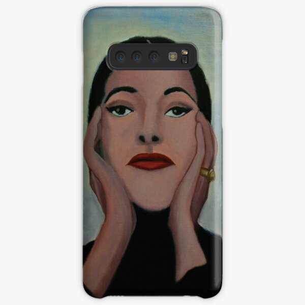 Maria Callas Samsung Galaxy Snap Case