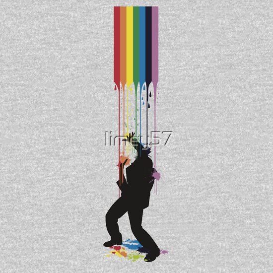 TShirtGifter presents: Somewhere Over the Rainbow - Someone's Getting Wet