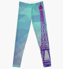 Eiffel Tower Paris Leggings