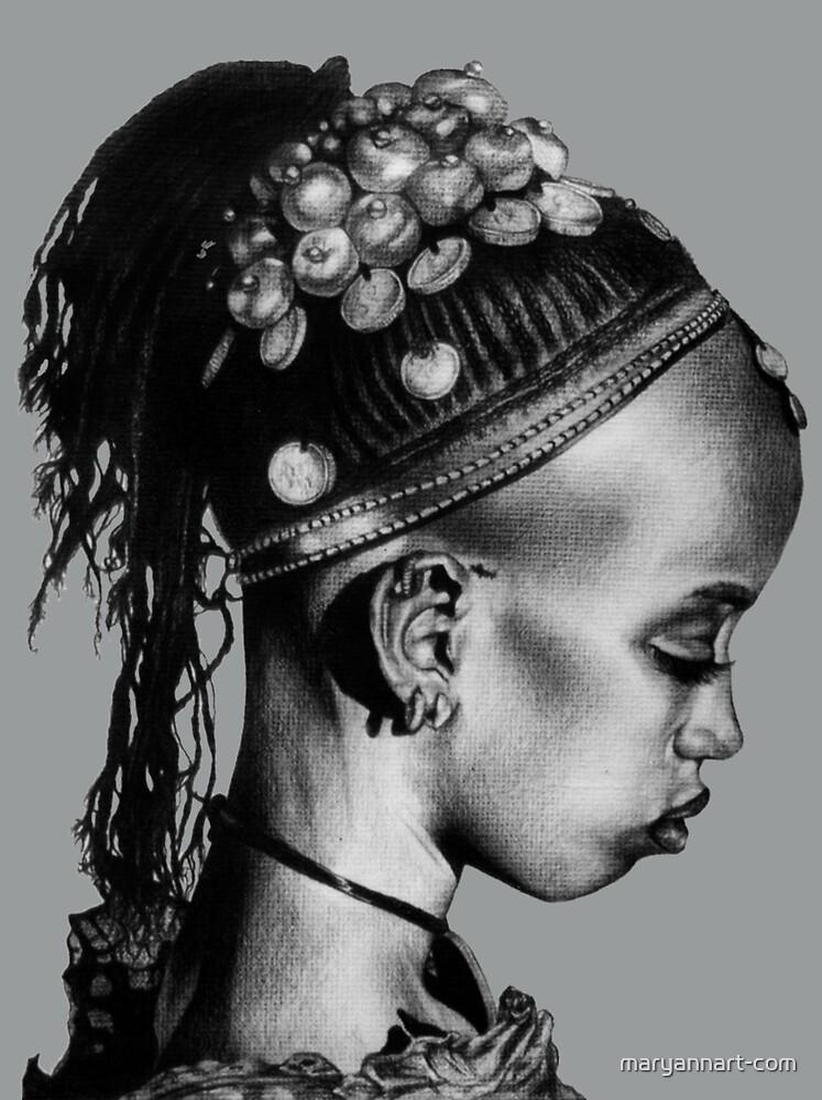 « Mariée sud-africaine » par maryannart-com