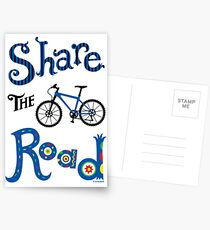 Share The Road  ll - card   Postcards