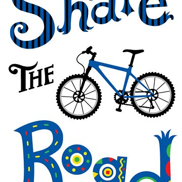 Share The Road  ll - card   by andibird