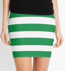 Kelly Green Beach Striped Coordinate Mini Skirt