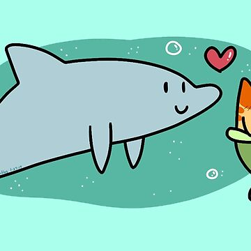 Dolphin and MerCat Love by SaradaBoru