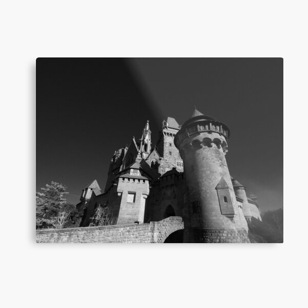 Burg Kreuzenstein, Österreich Metallbild