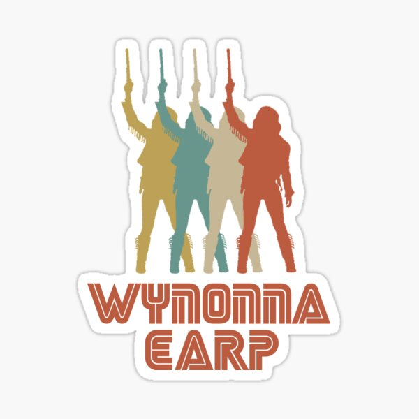 Retro Wynonna Earp - Season 4 Sticker
