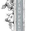 Farm Fresh Barnyard Buddies by Julie Townsend