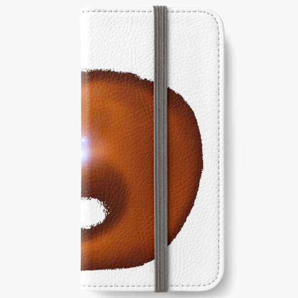 flame, abstract, energy, fantasy, shape, art, astronomy, space, illustration, design, hot, moon, large, orange color, fine art painting, in a row, square iPhone Wallet