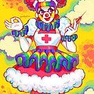 Rainbow Clown Krankenschwester von ElianaAriel
