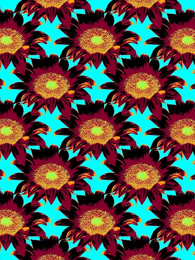Sunflower Pattern by RaymundoSouza