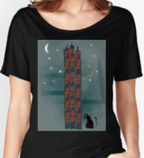 Urban Cat Women's Relaxed Fit T-Shirt
