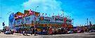 Nathan's Famous Frankfurters, Original Headquarters, Coney Island, Brooklyn, USA by Chris Lord