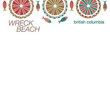 Wreck Beach Modern Vintage/Retro original design by challisandroos
