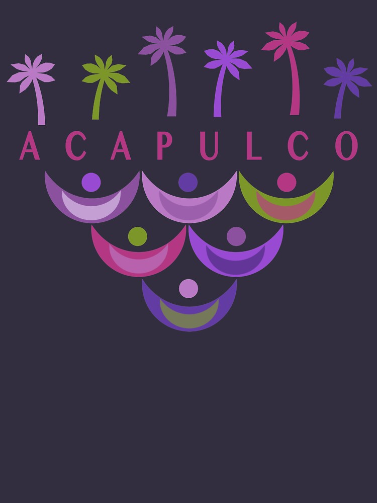 Acapulco Modern Vintage/Retro original design by challisandroos