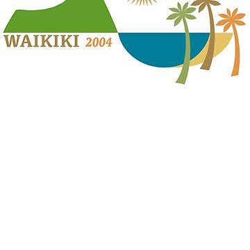 Waikiki Modern Vintage/Retro original design by challisandroos