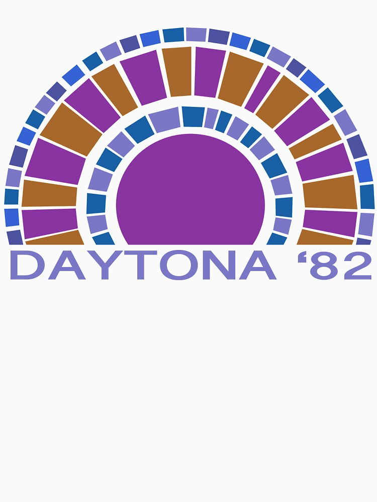 Daytona Beach Modern Vintage/Retro original design by challisandroos