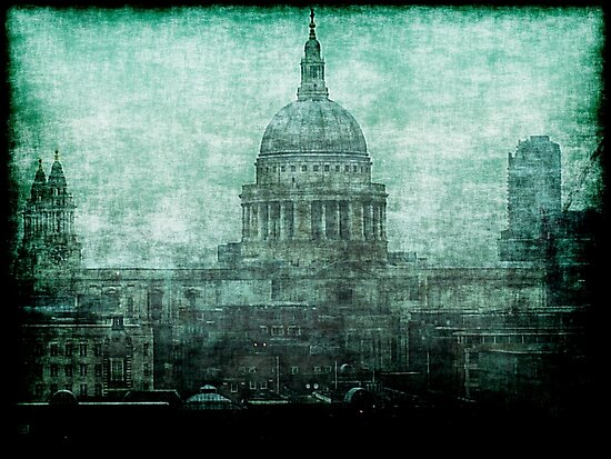 St. Paul's Cathedral by Benedikt Amrhein