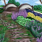 English Garden Color by SonneFaunArt