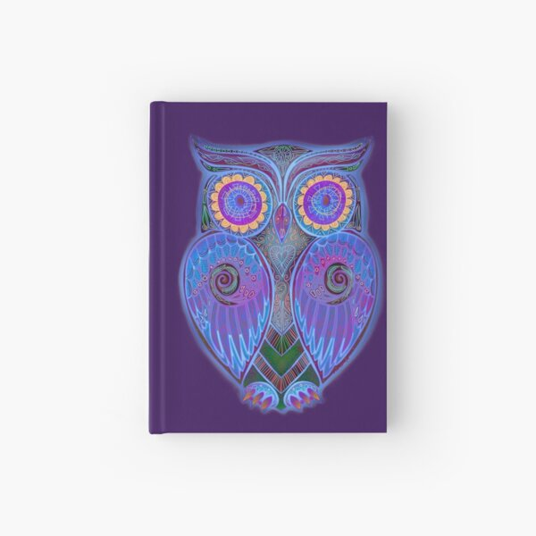 Ornate Owl 5 Hardcover Journal