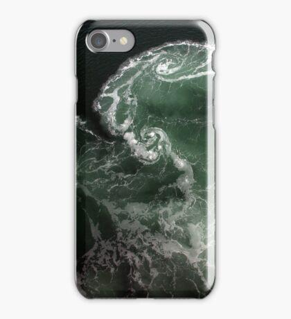 Turbulence - A birds eye view iPhone Case/Skin