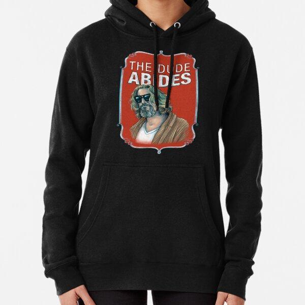 BIG LEBOWSKI-The Dude- Abides Pullover Hoodie