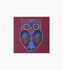 Ornate Owl 9 Art Board Print