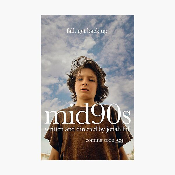 mid90s (Movie Poster) Photographic Print