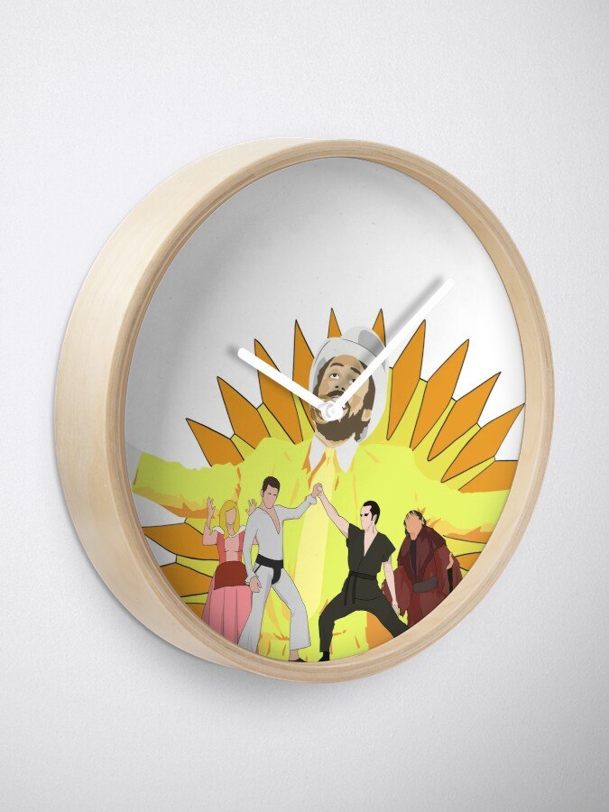 Alternate view of Gang Design  Clock