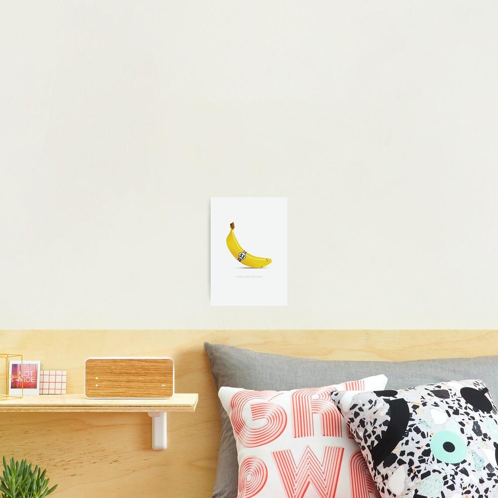 Herbie Goes Bananas Photographic Print